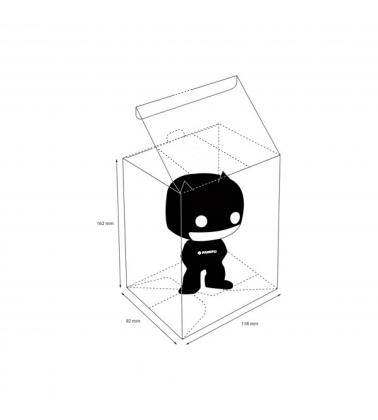 Medidas caja protectora funko pop