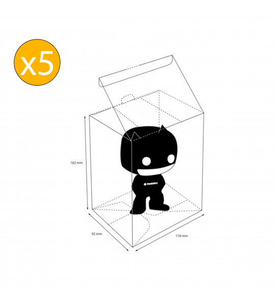 Protector Funko POP Regular x 5