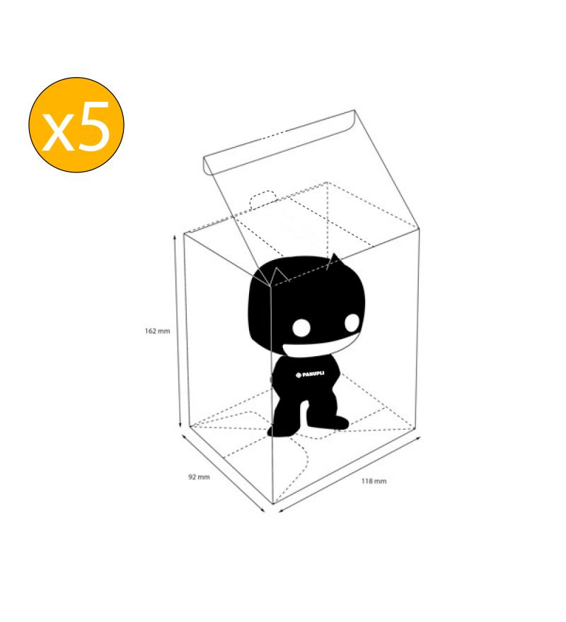Protector Funko POP Regular x 5