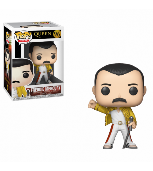 Funko POP Rocks: Queen - Freddie Mercury Wembley 1986