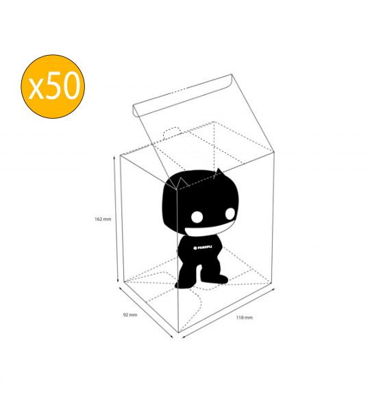 Protector Funko POP Regular x 50