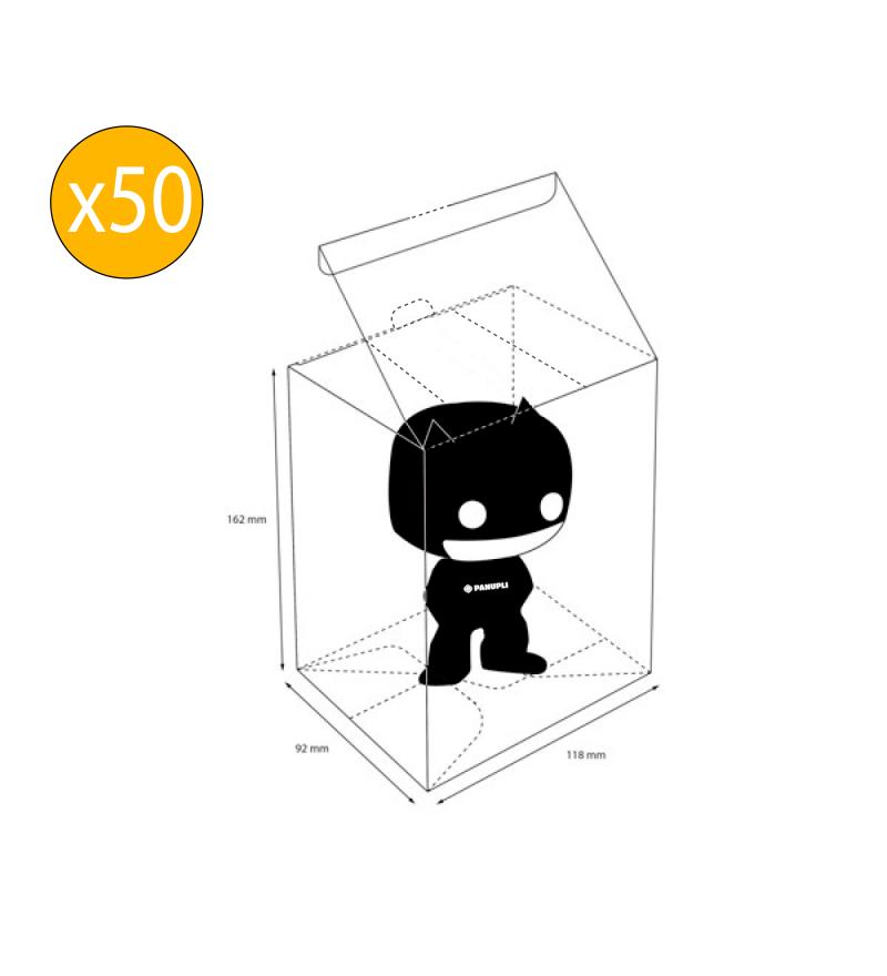 Protector Funko POP Regular x 50