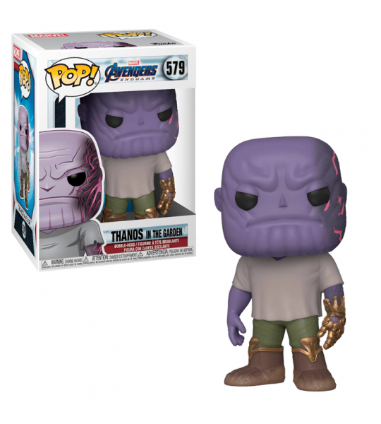 Funko POP Endgame: Thanos jardín