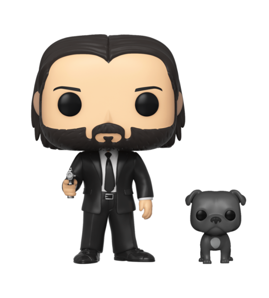 Funko POP John Wick: John (Black Suit) w/Dog