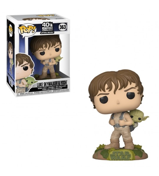 Funko POP Star Wars: Training Luke con Yoda