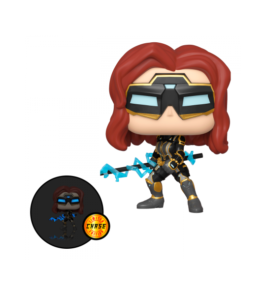 Funko POP Avengers Game: Black Widow