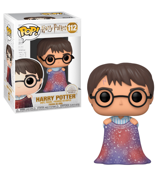 Funko POP Harry Potter: Harry con capa de invisibilidad