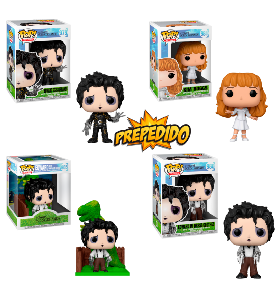 Prepedido Funko POP Eduardo Manostijeras: Pack