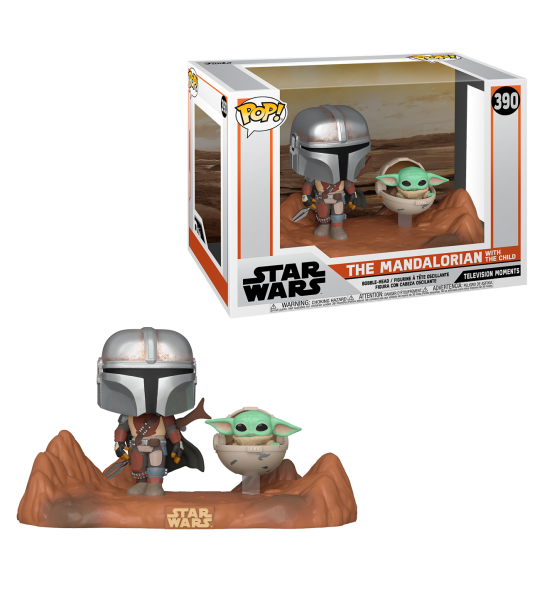 Funko POP Mandalorian MM: Mandalorian & The Child