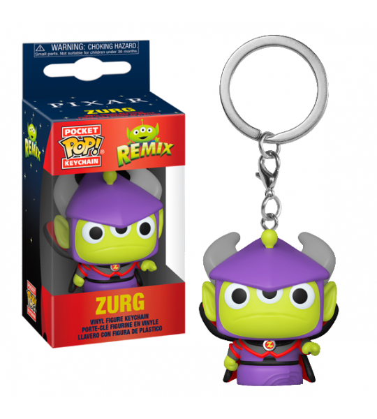 Funko POP Keychain: Alien Remix Zurg
