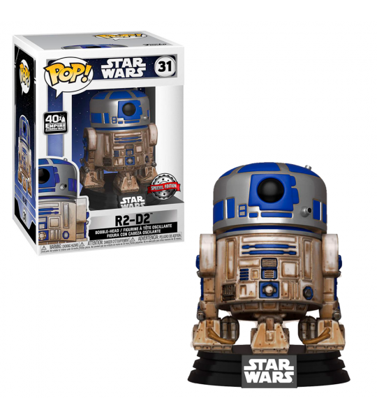 Funko POP Star Wars: Dagobah R2-D2 (EXC)