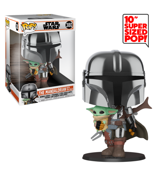 Funko POP The Mandalorian: The Mandalorian 10""