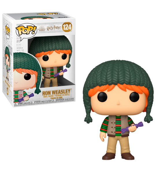 Funko POP! Harry Potter: Ron Holiday