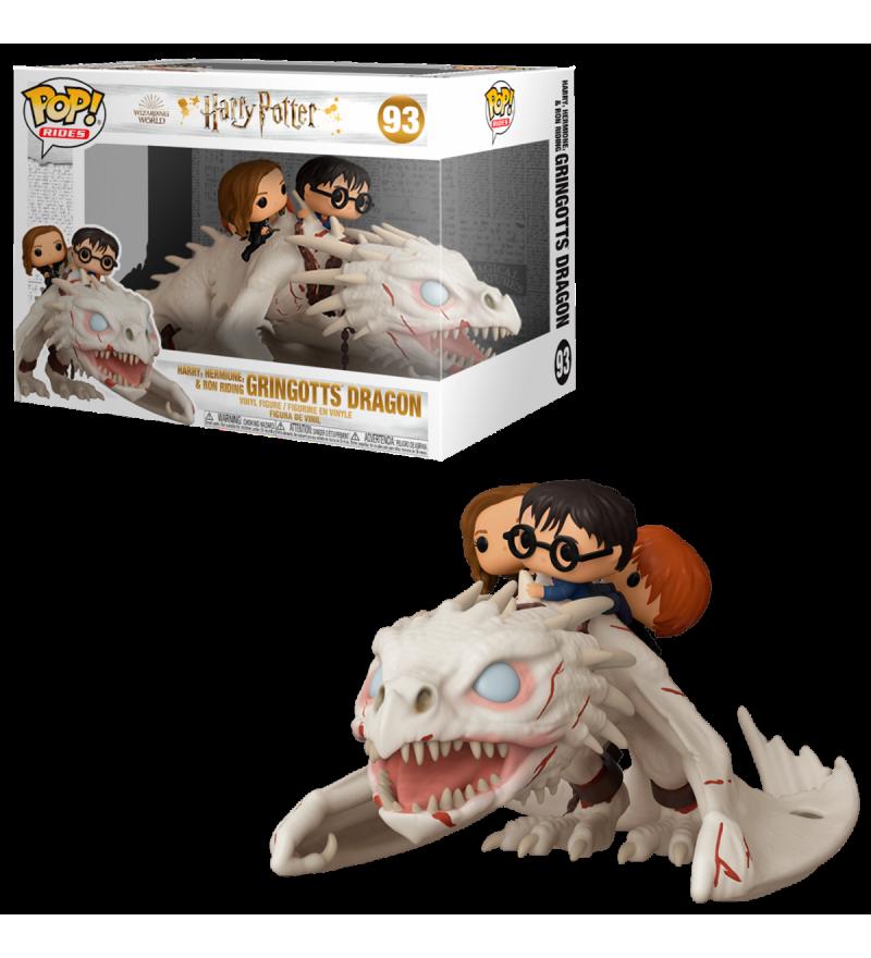 Funko Ride HP: Dragon G. con Harry, Ron, & Hermione