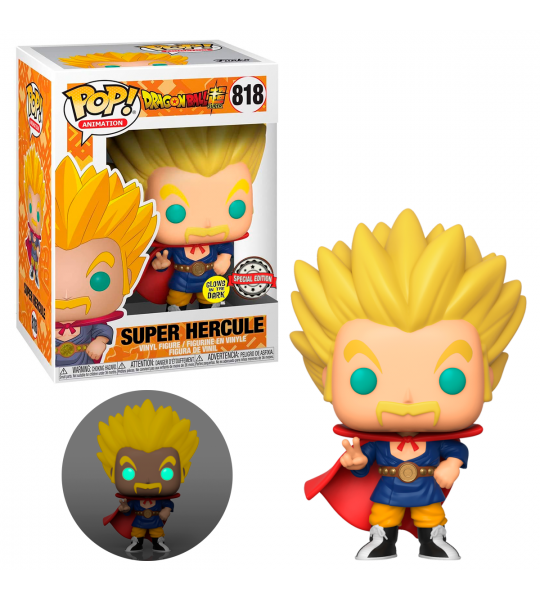 Funko POP Dragon Ball Super: Mr. Satan GITD (EXC)