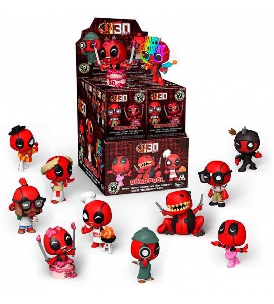 Funko Mystery Mini: Deadpool 30th