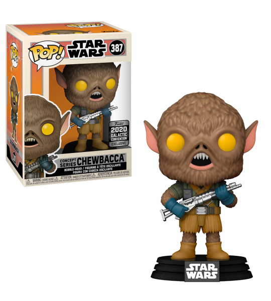 Funko POP Star Wars: Chewbacca Concept Series (EXC)