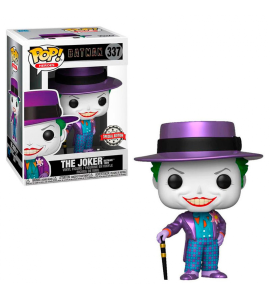 Funko POP Batman 1989:  Joker MT (EXC)