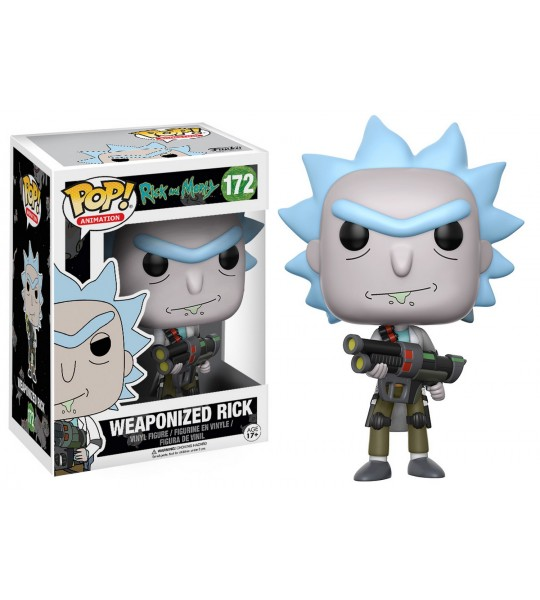 Funko POP Rick & Morty: Weaponized Rick