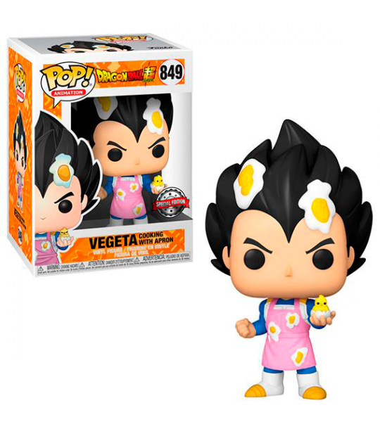 Funko POP Dragon Ball Z: Vegeta Cocinando (EXC)
