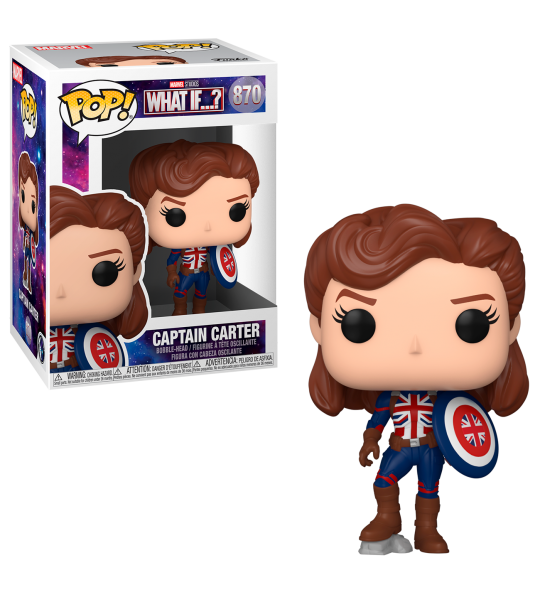Funko POP What If: Captain Carter
