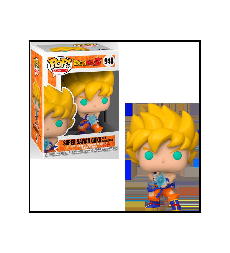 Funko POP Dragon Ball Z: SS Goku Kamehameha